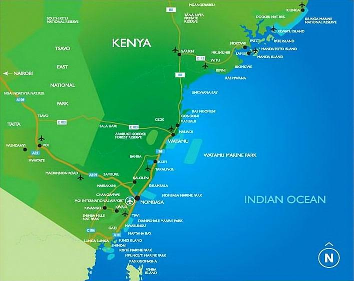 location watamu kenya