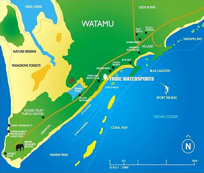 Accommodation In Watamu Kenya Tribe Watersportstribe