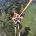 Women's kitesurfing in Watamu